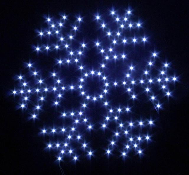 Световые мотивы(снежинки,звёзды)