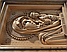 Різьблена ікона Казанської Божої Матері з натурального дерева, фото 7