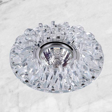 Точечный врезной светильник (16-В026), фото 2
