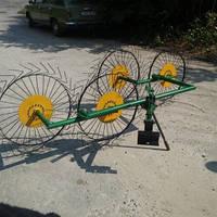 Сеноворошилка – Грабарка «Солнышко» к мотоблоку четырехколесные AR