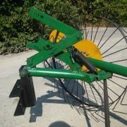 Сеноворошилка «Солнышко» к мотоблоку четырехколесные AR, фото 3