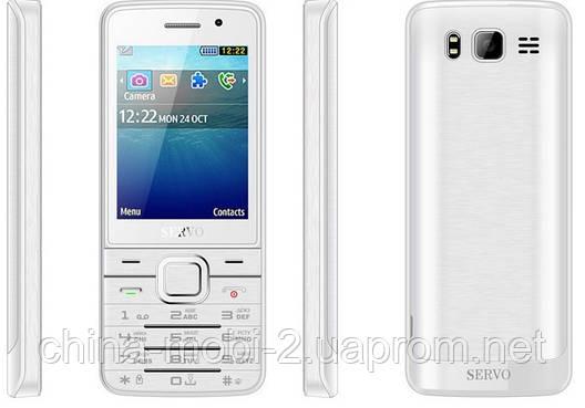 Телефон Servo V9500 -  4 sim, white, фото 2