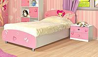 Кровать Мульти Фея (Світ Меблів ТМ)