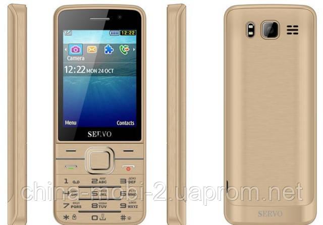 Телефон Servo V9500 -  4 sim, Gold