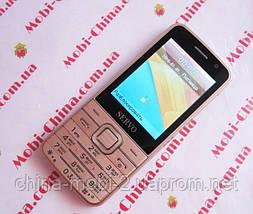 Телефон Servo V9500 -  4 sim, Gold, фото 3