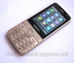 Телефон Servo V9500 -  4 sim, Gold, фото 2