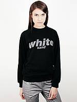 Свитшот White Sand Напис черный, фото 1