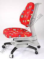 Детское регулируемое кресло растишка трансформер Goodwin KY-618 RL (красный с жуками)
