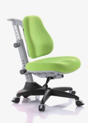 Детское регулируемое кресло растишка трансформер Goodwin KY-518 Green (зеленый однотонный), фото 2