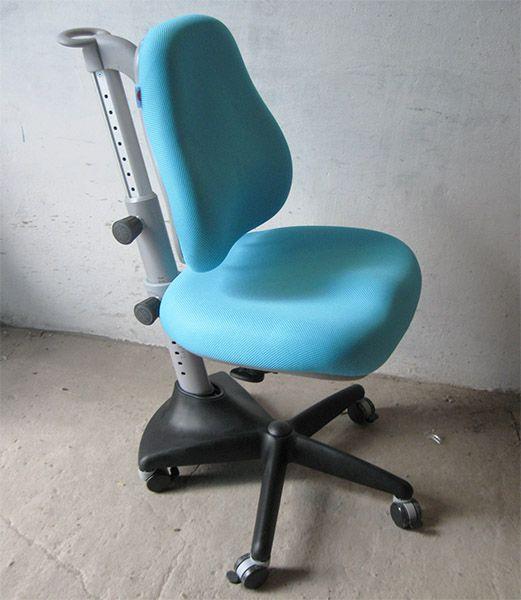 Дитяче регульоване крісло растишка трансформер Goodwin KY-518 Blue (темно-синій однотонний)