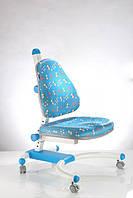 Детское регулируемое кресло растишка трансформер Goodwin К-639 Blue (Синий анимация)