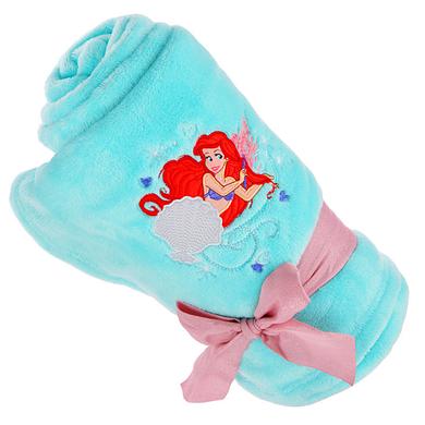 Плюшевый плед Русалочка Ариэль / Ariel mermaid fleece throw Disney