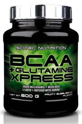 Аминокислоты BCAA + Glutamine Xpress (600 грамм) Scitec Nutrition