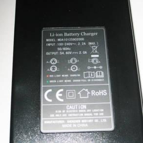 Зарядное устройство для литий-ионных аккумуляторов электро велосипедов (48 вольт), фото 2