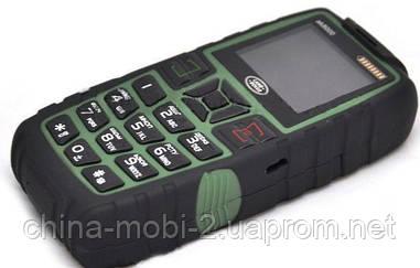 Телефон LAND ROVER  AK8000  HOPE   - 2 Sim  5000 mAh power bank , Green