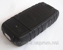 Телефон LAND ROVER  AK8000  HOPE   - 2 Sim  5000 mAh power bank , black, фото 3