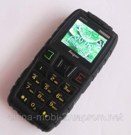 Телефон LAND ROVER  AK8000  HOPE   - 2 Sim  5000 mAh power bank , black, фото 2