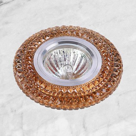 Точечный врезной светильник (05-А32), фото 2