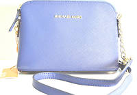 Брендовая женская сумка Michael Kors Майкл Корс синяя