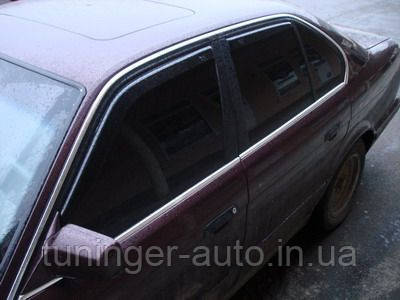 Ветровики, дефлекторы окон BMW Е34 1987-1995