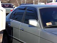 Ветровики, дефлекторы окон,дефлекторы окон BMW Е-34 1987-1995 (Hic)