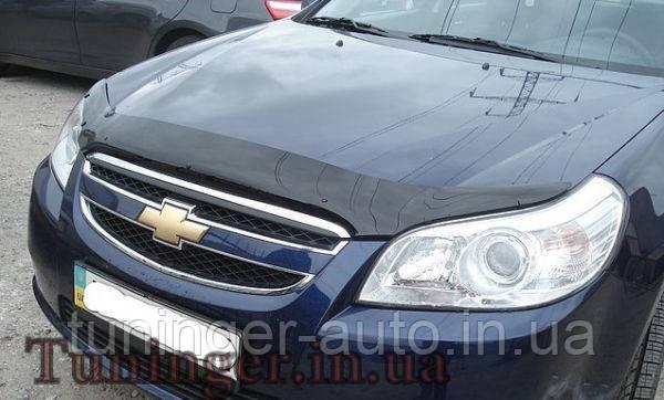 Мухобойка, дефлектор капота Chevrolet Epica