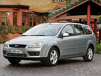 Ветровики, дефлекторы окон Ford Focus wagon. 2004-2010