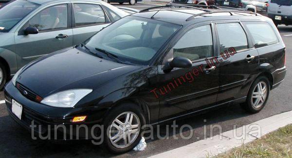 Ветровики, дефлекторы окон Ford Fokus wagon. 1998-2004