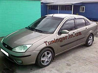 Ветровики, дефлекторы окон Ford Fokus Sed. 1998-2004