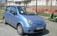Ветровики, дефлекторы окон Daewoo Matiz 1997-