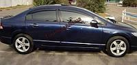 Ветровики, дефлекторы око Honda Civik sedan 2006-2011