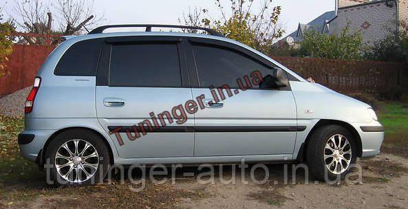 Ветровики, дефлекторы окон Hyundai Matrix 2001-2010