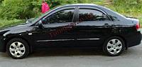 Дефлекторы окон (ветровики) Kia Cerato 2004-2010