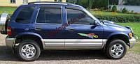 Дефлекторы окон(Ветровики) Kia Sportage 1996-2005