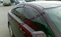 Ветровики, дефлекторы окон Mazda 3 sed 2003-2009