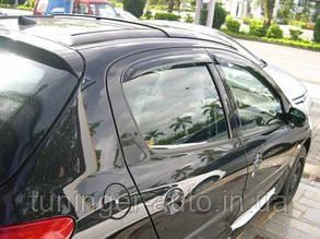 Ветровики, дефлекторы окон Peugeot 206 Hb/Sed. 1998-2008 (Hic)