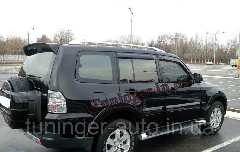Ветровики, дефлекторы окон Mitsubishi Pajero Wagon 2007- (EGR)