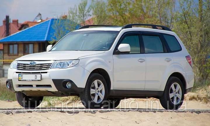 Ветровики, дефлекторы окон Subaru Forester 2008-2013 г.в. (Hic)