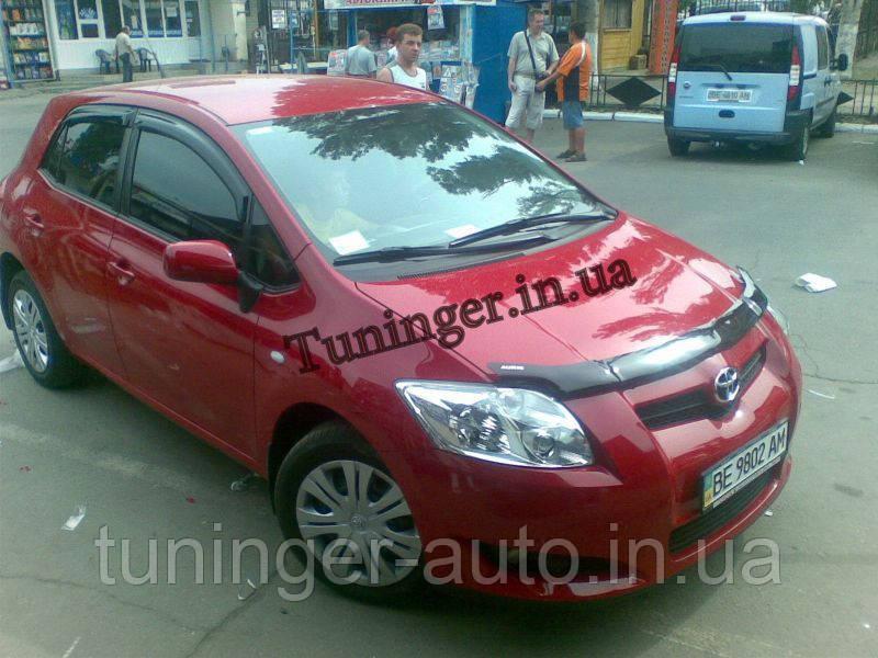 Ветровики,дефлекторы окон Toyota Auris HB 2007-2012 (Hic)