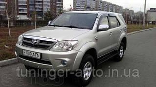 Ветровики,дефлекторы окон Toyota Fortuner 2005- (Hic)
