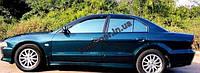 Ветровики, дефлекторы окон Mitsubishi Galant 1996-2003 (Hic)