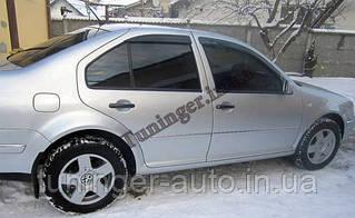 Ветровики, дефлекторы окон Volkswagen Bora 1998-2005 (Hic)