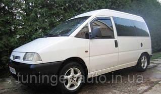 Ветровики. Дефлекторы окон. Fiat Scudo (Peugeot Expert ) 2D  1996-2006