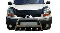 Мухобойка, дефлектор капота Renault Kangoo 2003-2007 (Vip)