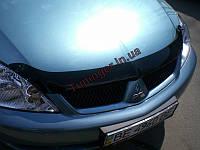 Мухобойка, дефлектор капота Mitsubishi Lancer IX 2003-2007 (Sim)