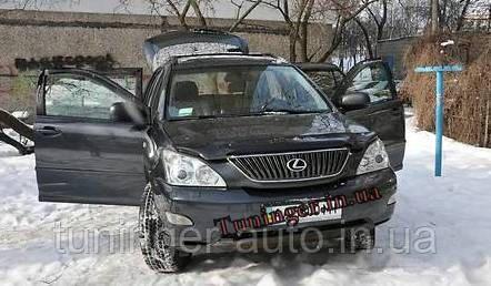 Мухобойка, дефлектор капота Lexus RX 350 2003-2009