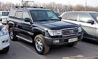 Мухобойка,дефлектор капота Toyota Land Cruiser 100 1998-2007 (Sim)