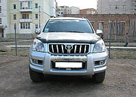 Мухобойка,дефлектор капота Toyota Land Cruiser Prado 120 2002-2009 (Sim)
