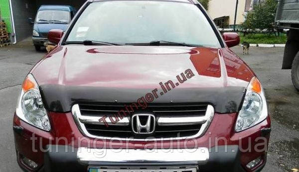 Мухобойка, дефлектор капота Honda CR-V 2002-2006