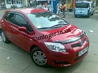 Мухобойка,дефлектор капота Toyota Auris HB 2006-2009 (Sim)